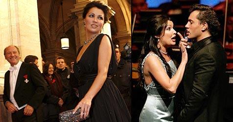 Star-Sopranistin Anna Netrebko ist schwanger! (Bild: EPA, AP Photo)