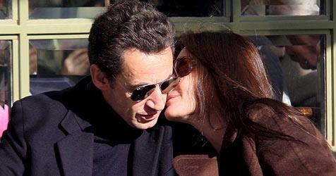 """Carla Bruni: """"Es war Liebe auf den ersten Blick"""""""