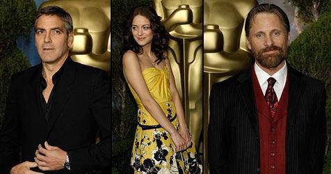 Stars strahlten beim Oscar-Lunch um die Wette