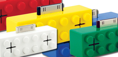 iPod-Lautsprecher im Lego-Design