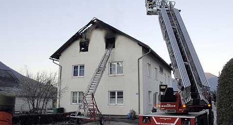Ein Toter bei Wohnungsbrand (Bild: Jack Haijes)