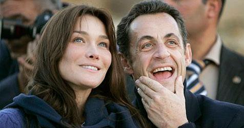 Heiße Liebesbriefe für Sarkozy - Polizei griff ein