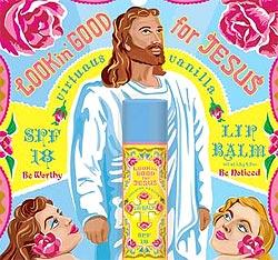 Kosmetik-Serie mit Jesus-Motiv verboten (Bild: Blue Q)