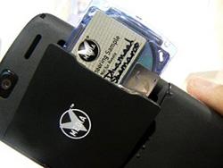 Mini-DVDs für Mobiltelefone