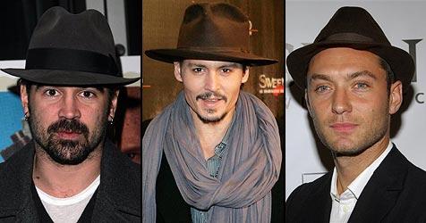 Farrell, Depp und Law vertreten Heath Ledger