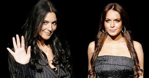 Monica Bellucci und Lindsay modeln für D&G