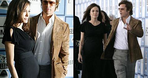 Angelina Jolie zeigt ihren Babybauch