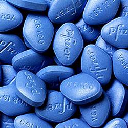 Brite sieht nach Viagra-Überdosis nur noch blau