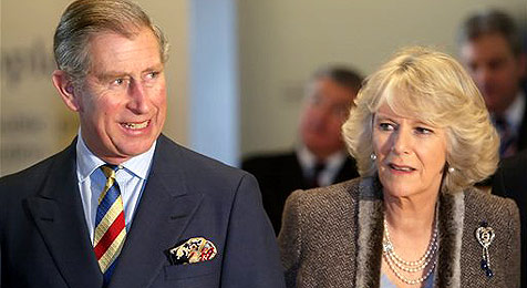 Camilla urlaubt mit Ex-Mann und dessen Ehefrau