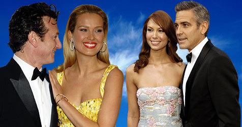 Hollywood-Stars auf Wolke 7