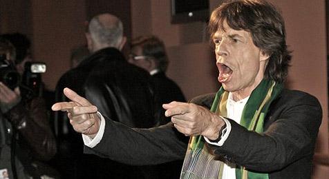 Rock-Opa Mick Jagger hat Anrecht auf die Rente