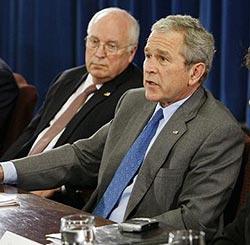 Bush und Cheney droht in Vermont die Verhaftung