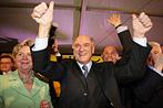 NÖ: Jubel, Trubel, Heiterkeit nach Wahlsieg der ÖVP