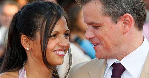 Vierte Tochter für Schauspieler Matt Damon