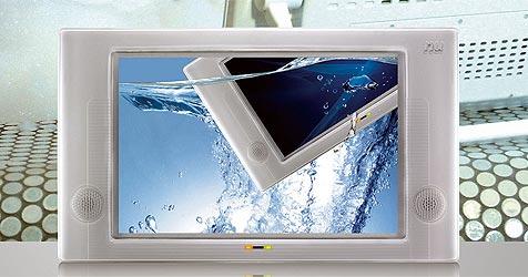 Wasserabweisendes Display fürs Badezimmer (Bild: New Universe Europe)