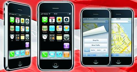 Apples iPhone nun auch in Österreich erhältlich