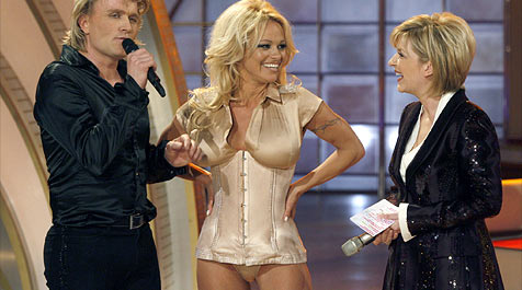 Pamela Anderson ließ sich verzaubern (Bild: dpa/A3464 Rainer Jensen)