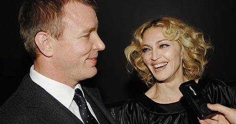 """Madonna und Guy Ritchie spielen """"heile Welt"""""""