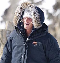 Österreicher will mit Snowkite durch Sibirien (Bild: www.snowkiting.at)