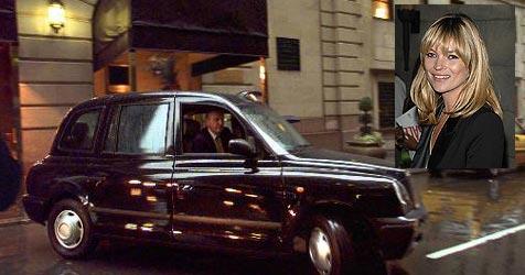 Kate Moss kauft sich Londoner Taxi
