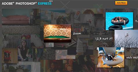 Photoshop Express als kostenlose Webversion