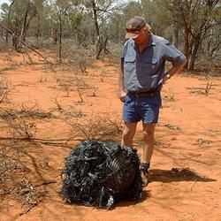 20-kg-Brocken aus dem All trifft australische Farm