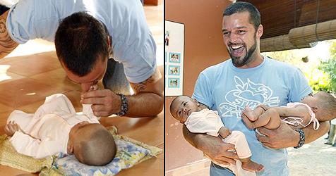 Ricky Martin hilft ausgebeuteten Menschen