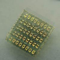Forscher entwickeln dehnbare Silizium-Chips (Bild: John Rogers)