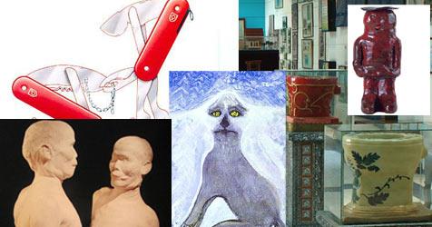 Das sind die skurrilsten Kunstwerke der Welt
