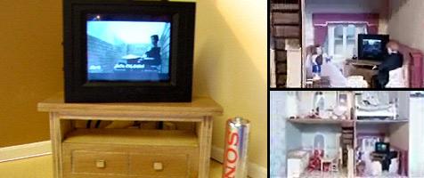 Brite baut Mini-Fernseher für Puppenhäuser