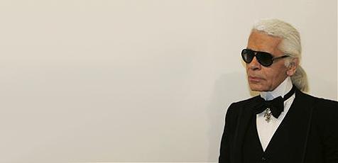 Karl Lagerfeld feiert seinen 70er