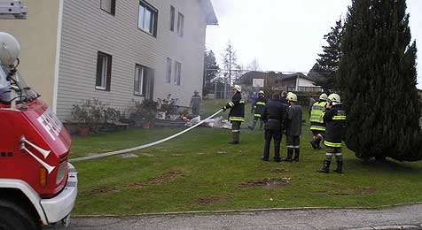 15-Jähriger vor Feuertod gerettet (Bild: FF Oberneukirchen)
