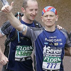 Blinder läuft sieben Marathons in sieben Tagen