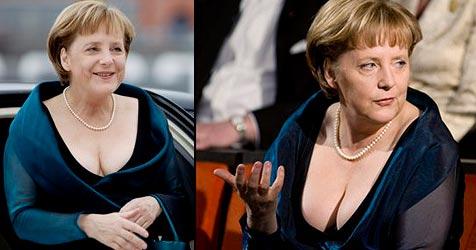 Merkel sorgt mit Abendkleid für Furore in Oslo