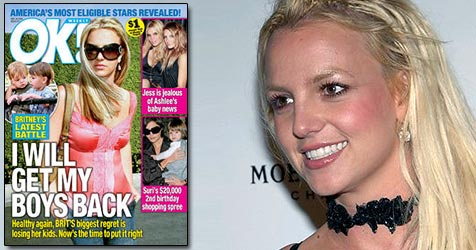"""Britney: """"Ich hole mir meine Kinder zurück!"""" (Bild: AP Photo, Cover OK!)"""