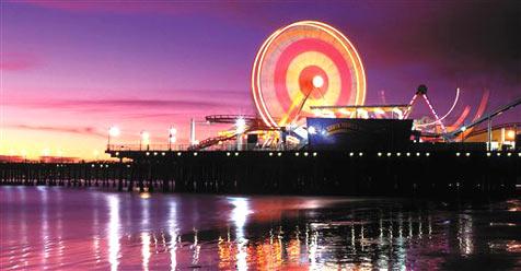 Ferris Wheel von Santa Monica wird versteigert
