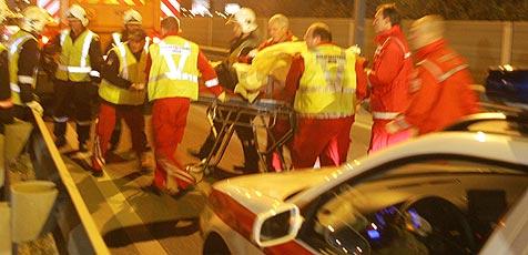 Betrunkener Lkw-Lenker verursacht schweren Unfall (Bild: Andi Schiel)