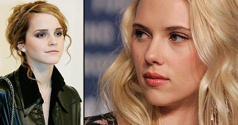 Emma Watson wirft Johansson aus dem Rennen