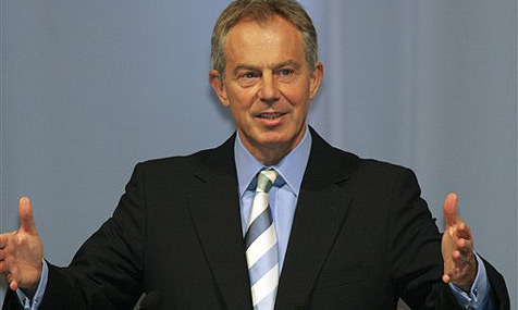 Ex-Premier Tony Blair ohne Ticket erwischt