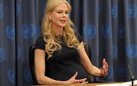 Nicole Kidman zeigt endlich Babybauch!
