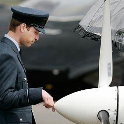 Prinz William sorgt erneut mit Flügen für Ärger