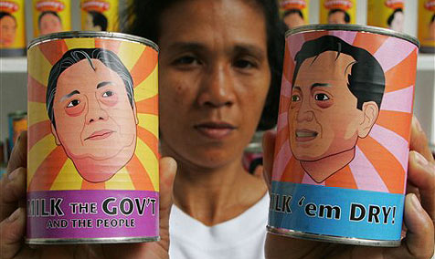 Lebensmittelkonserven prangern Regierung an