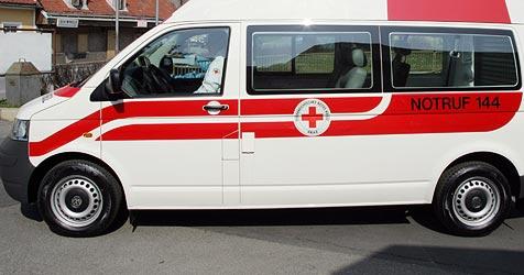 Baby kam im Rettungswagen zur Welt (Bild: Christian Jauschowetz)
