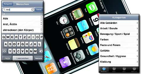 iPhone lernt Gebärdensprache