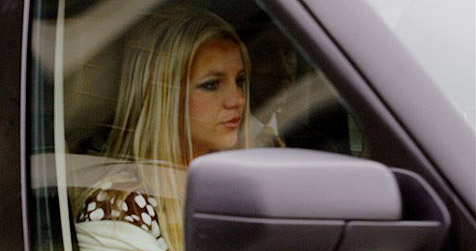 Britney Spears baut wieder einen Unfall