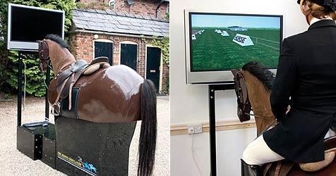 Hightech-Pferde-Simulatoren für Reiter (Bild: Racewood)