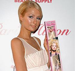 Paris Hilton präsentiert Linie für Haarverlängerung