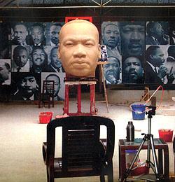 Aufregung um Martin-Luther-King-Statue (Bild: AFP)