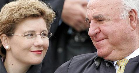 Deutscher Altkanzler Kohl hat geheiratet