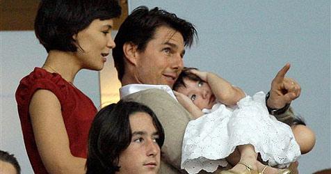 Tom, Katie und Suri: Ausflug zu Beckham-Spiel